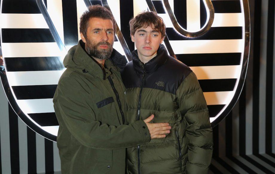 Liam Gallagher e il figlio Gene