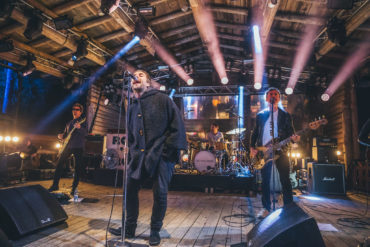 Liam Gallagher sul palco dello Snowbombing Festival 2018