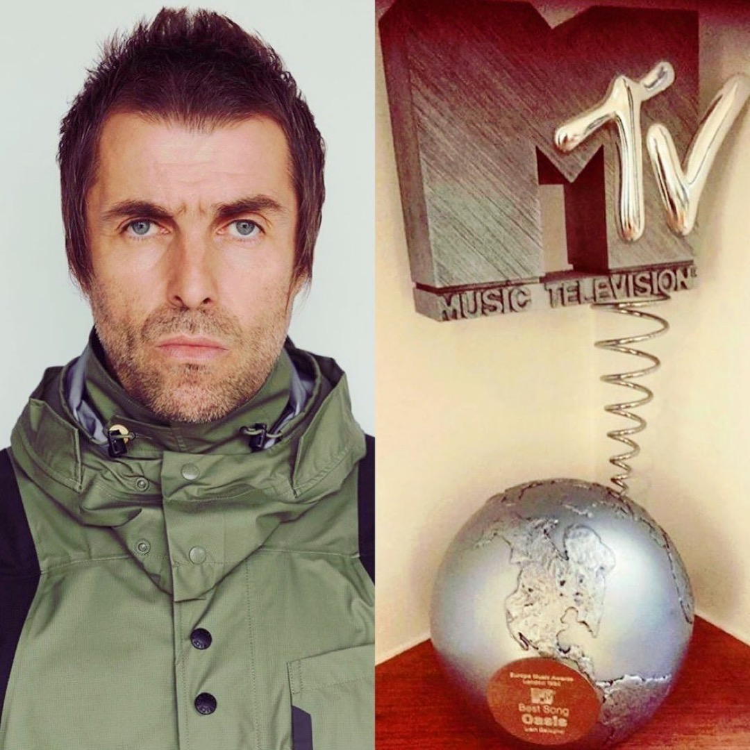 Liam Gallagher MTV Award 1996
