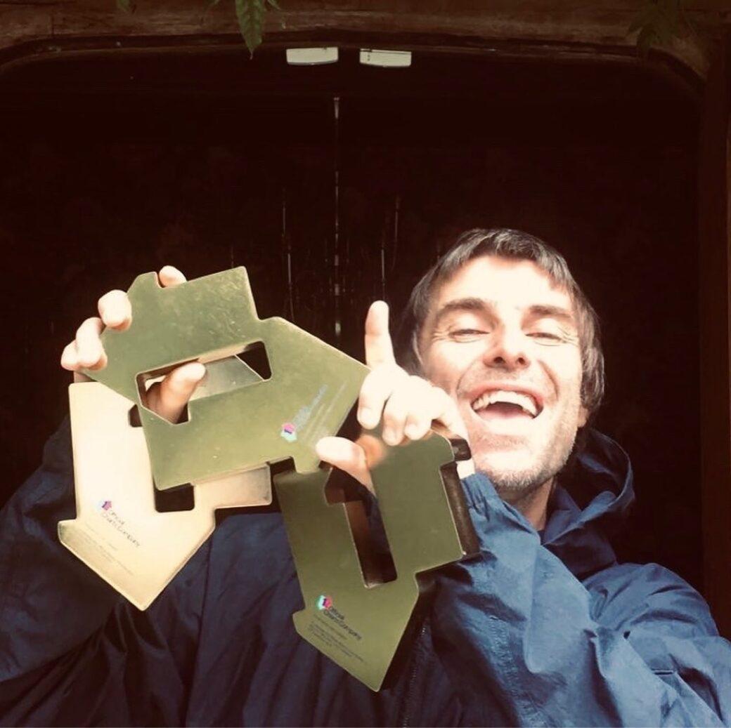 Liam Gallagher 3 volte Numero 1