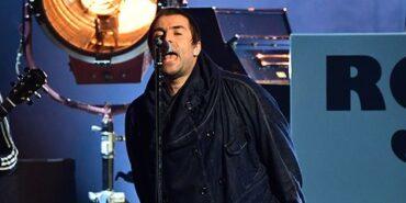 Liam Gallagher sul palco