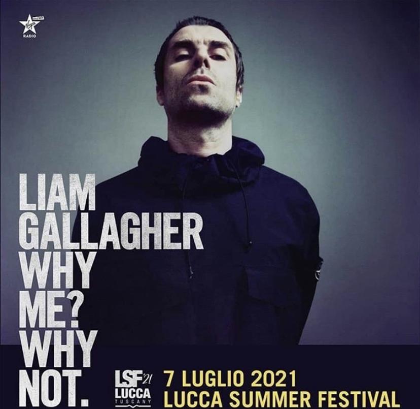 Liam Gallagher al Lucca Summer Festival 2021
