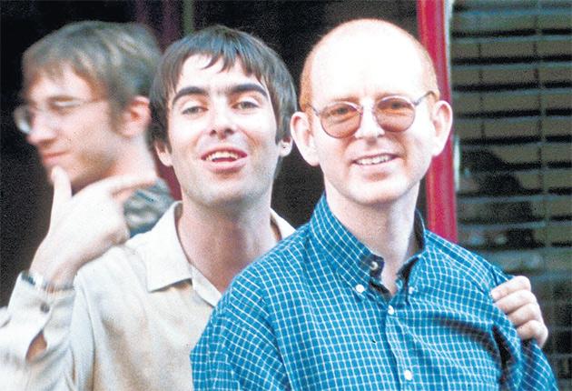 Alan McGee e Liam Gallagher