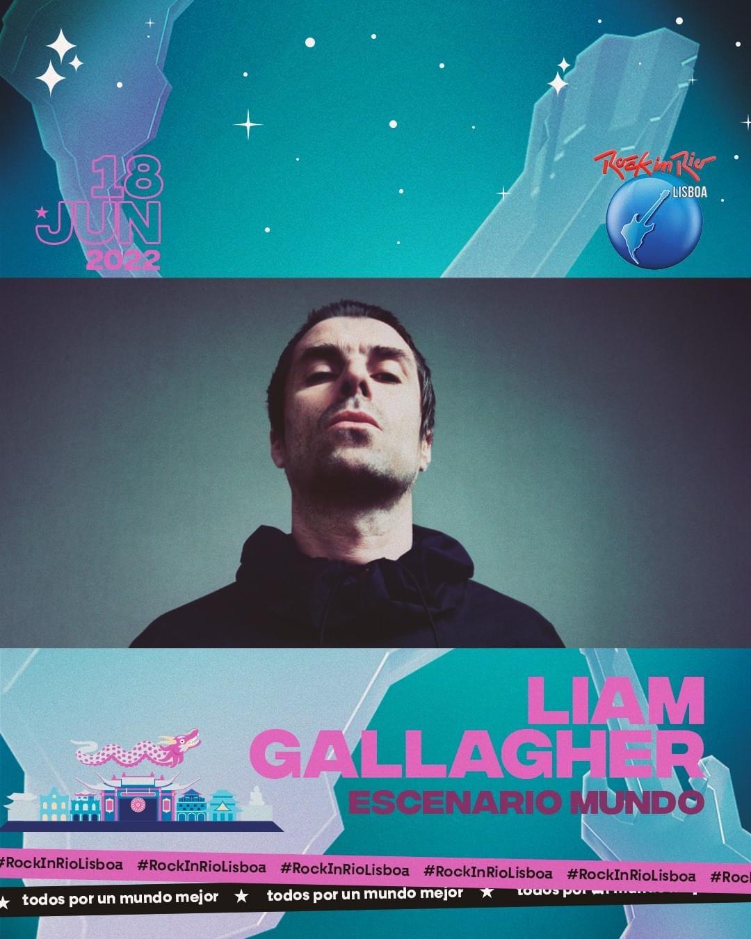 Liam Gallagher Rock in Rio Lisbona 2022